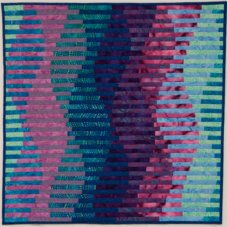 "Interleave #3: Waveforms - 24.5""x24.5"""