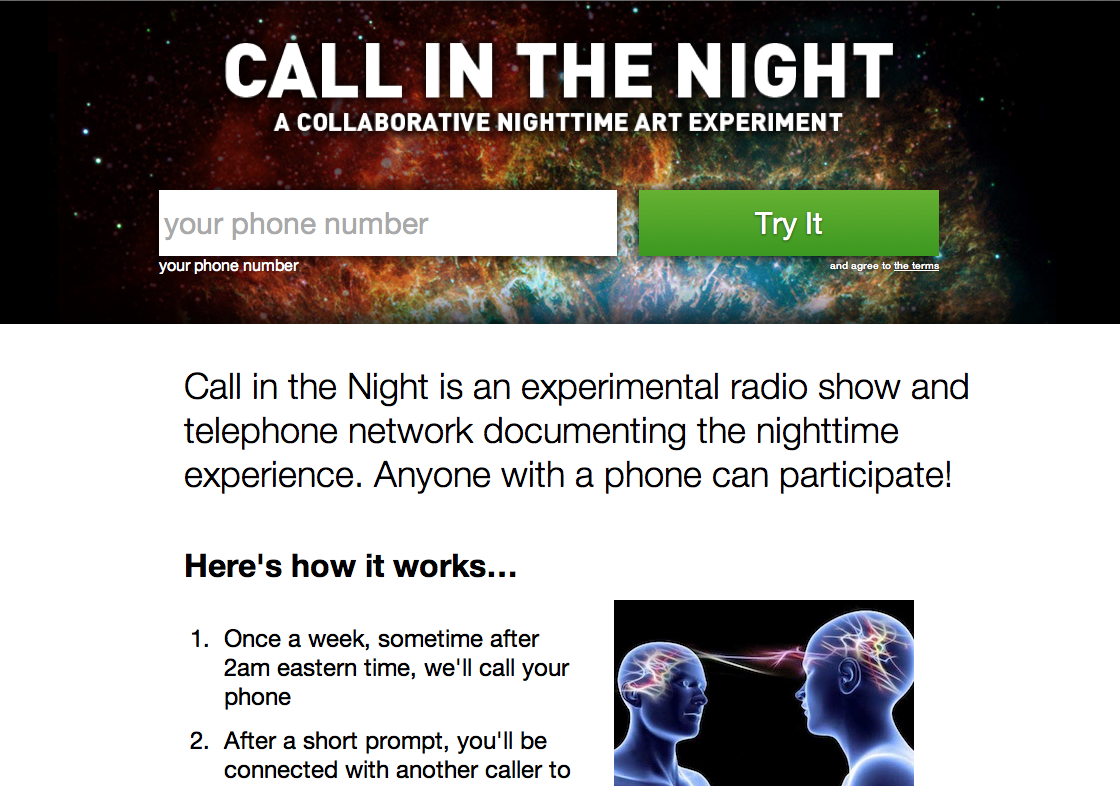 Thumbnail photo: Call in the Night