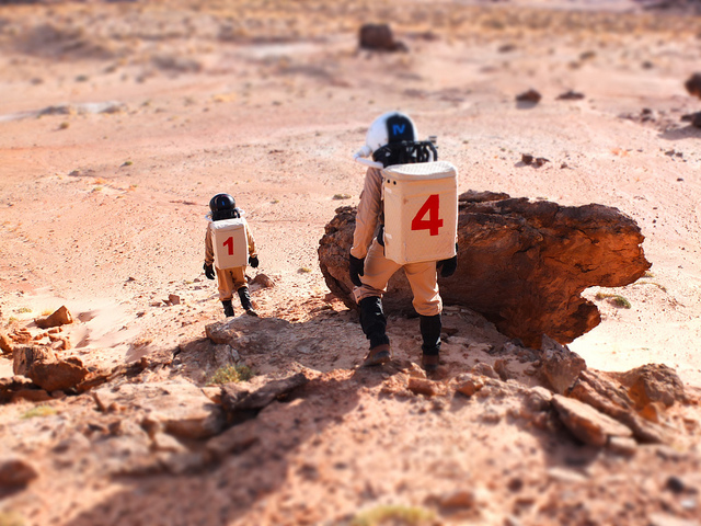 Thumbnail photo: Robot Cowboy: Onward to Mars