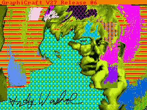 Andy2, 1985 by Andy Warhol (American, 1928-1987). Digital image, from disk 1998.3.2129.3.4. The Andy Warhol Museum, Pittsburgh; Founding Collection, Contribution The Andy Warhol Foundation for the Visual Arts, Inc. © 2014 The Andy Warhol Foundation for the Visual Arts, Inc. / Artists Rights Society (ARS), New York