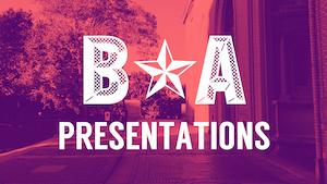 Thumbnail: B★A Presentations