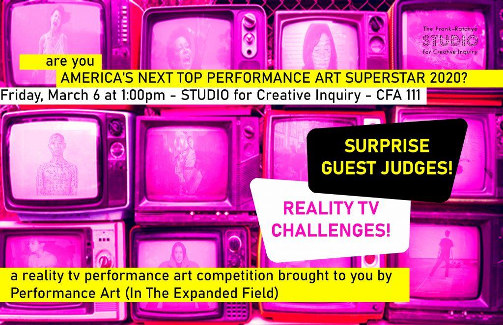 Thumbnail: America's Next Top Performance Art Superstar 2020!