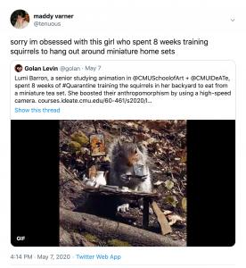 Maddy Varner Tweet